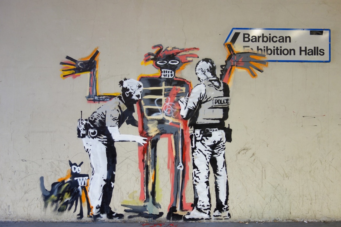 banksy tribute jean michel basquiat