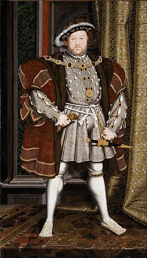300px After Hans Holbein the Younger Portrait of Henry VIII Google Art Project