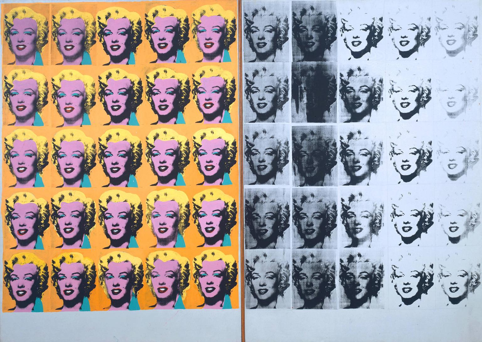 GREAT ART ANDY WARHOL Marilyn