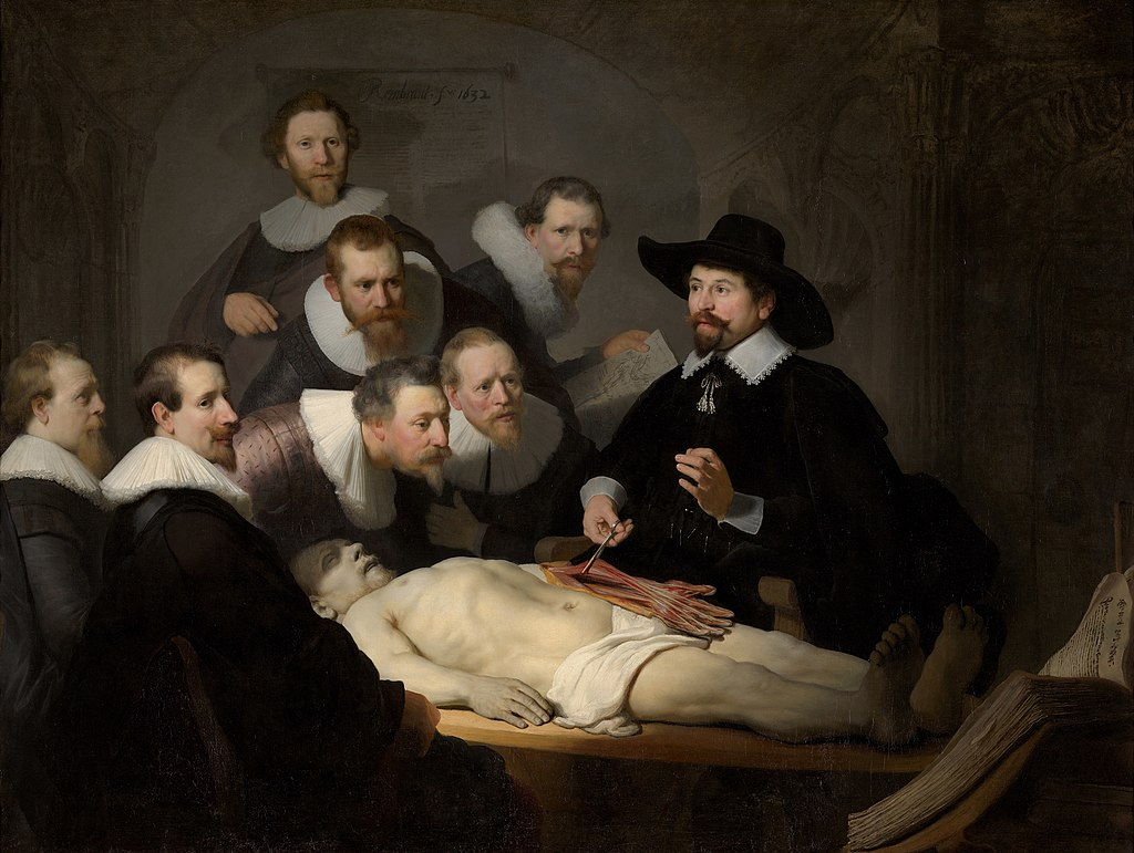 1024px Rembrandt The Anatomy Lesson of Dr Nicolaes Tulp