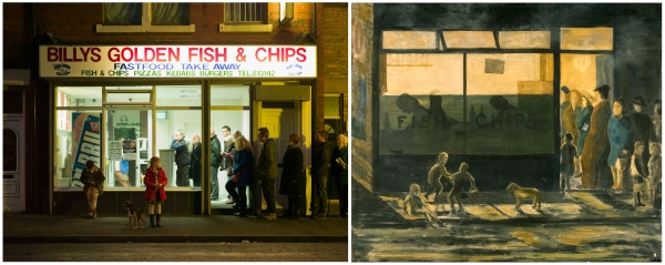 Fish and Chips by the ADS 2015 and by Fred Laidler, 1948