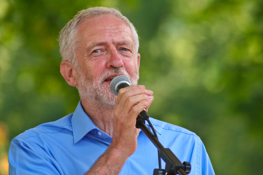 Jeremy Corbyn Leader of the Labour Party UK