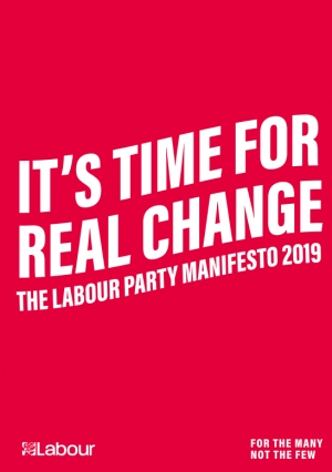 The election: the radical and realistic approach to culture in the Labour manifesto