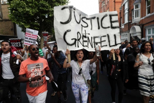 Grenfell: for the victims